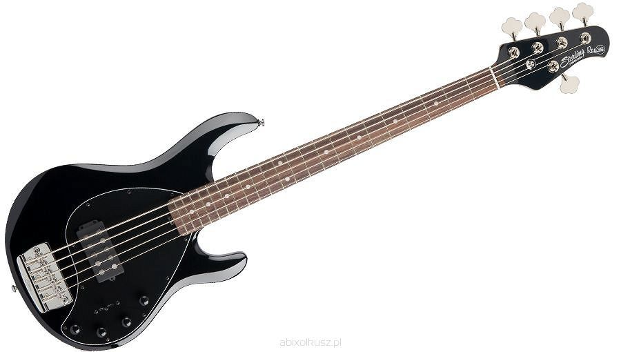 sterling by music man ray35bk stingray black 5 string bass guitar ray35bk. Black Bedroom Furniture Sets. Home Design Ideas